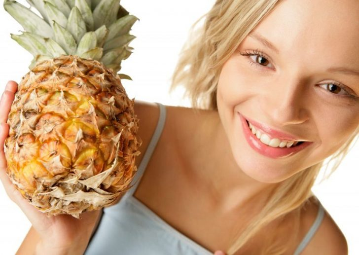Маска из ананаса для лица