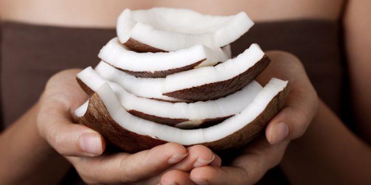 Маска кокосовая для лица
