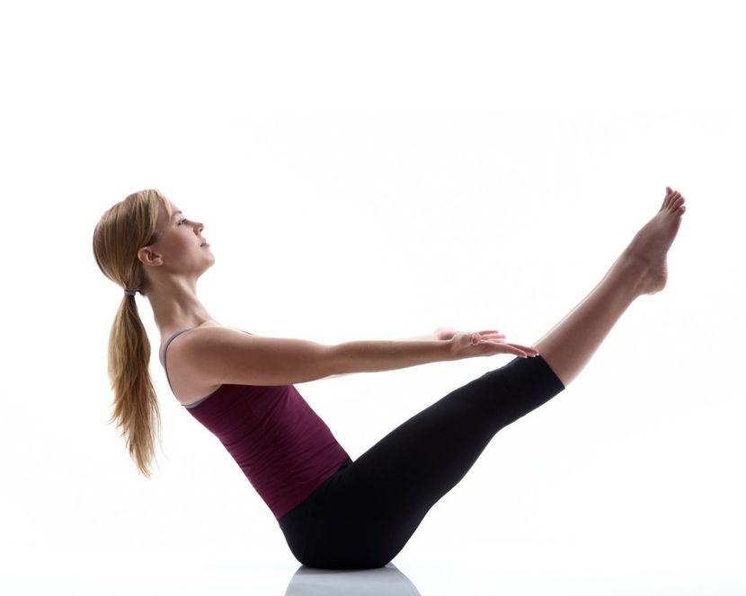 упражнения от жира на животе