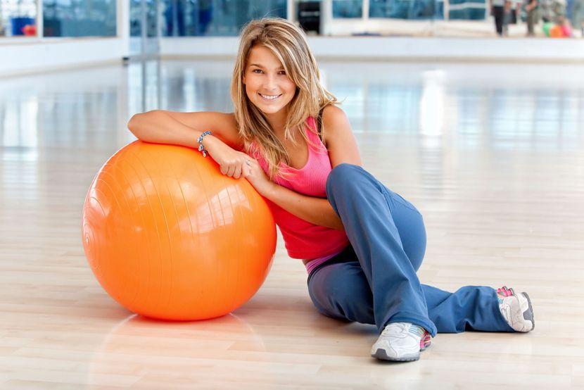 Выбор фитбола для похудения