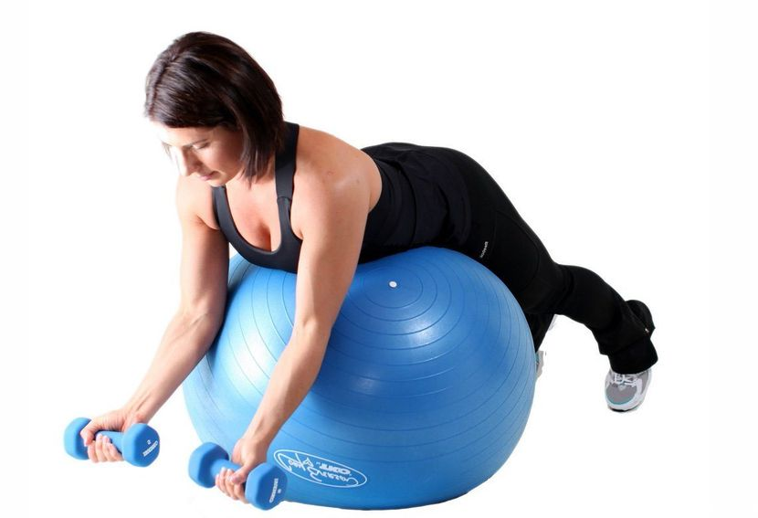 Разновидности мячей для фитнеса
