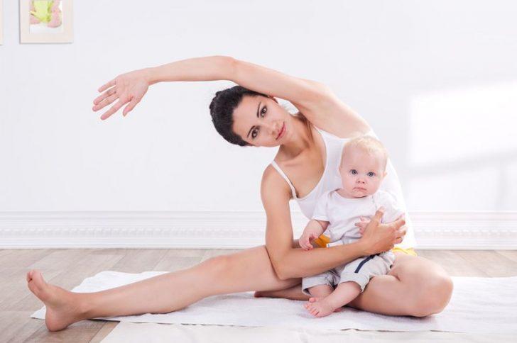 Упражнения после родов: гимнастика для кормящих матерей