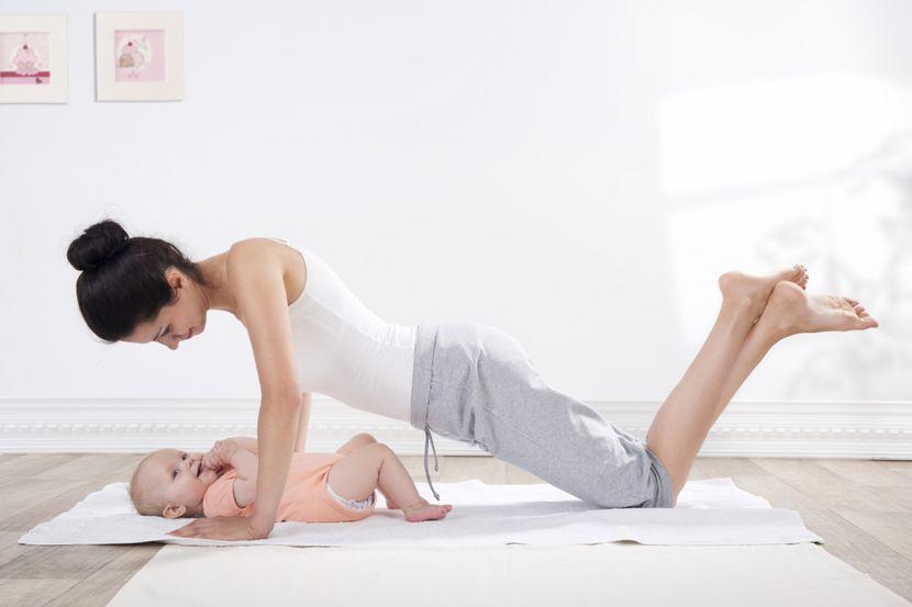 Когда можно заниматься гимнастикой после родов?