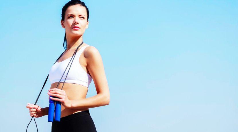 Как похудеть, прыгая на скакалке до 10 кг в месяц?