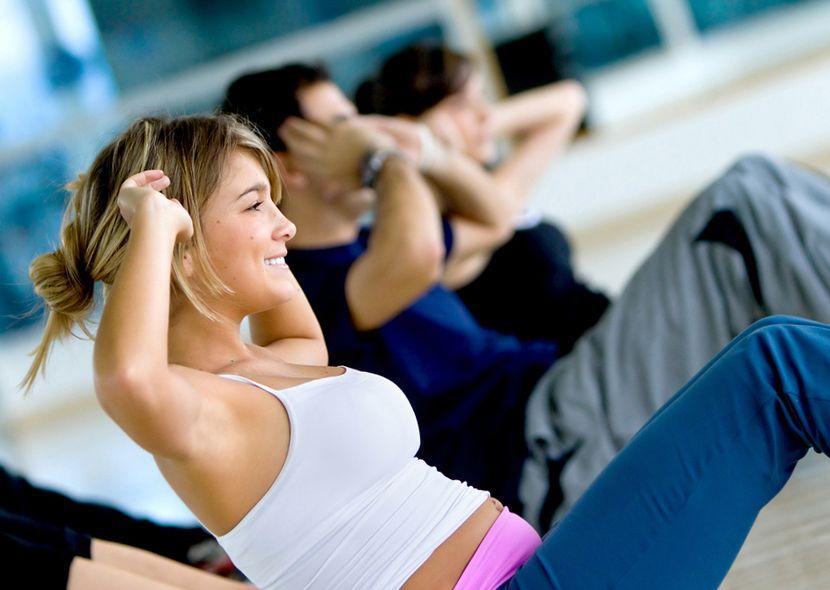 как убрать низ живота упражнения видео