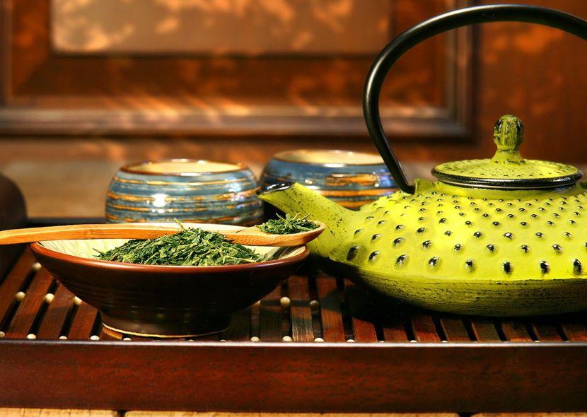 похудения на зеленом чае