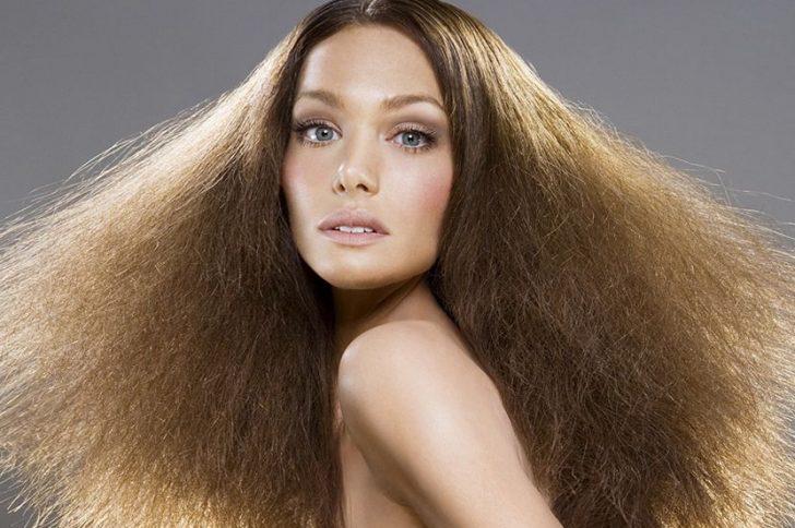 Маска для волос сухих в дом условиях