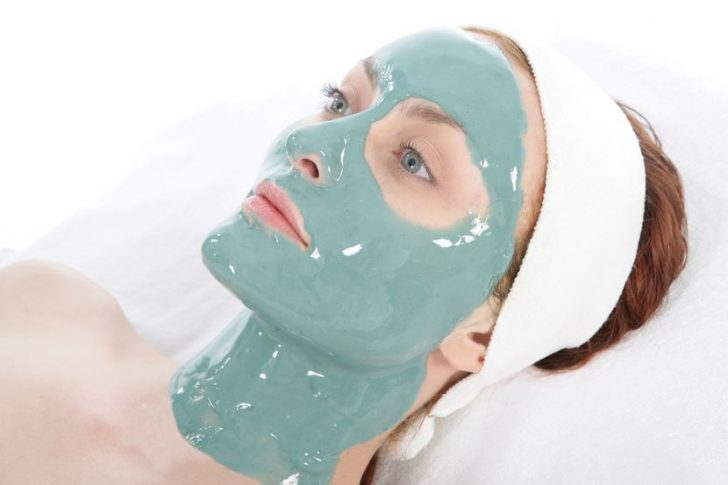 Альгинатная маска для лица
