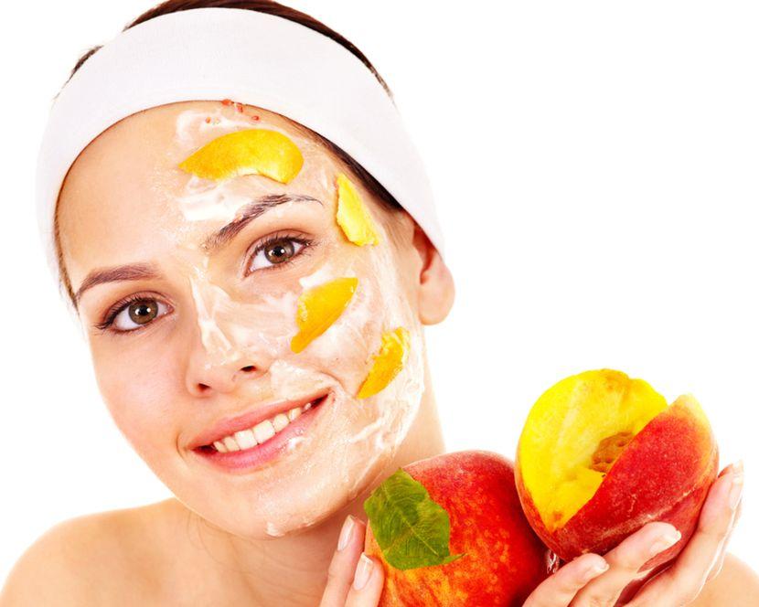 Летние маски из овощей и фруктов
