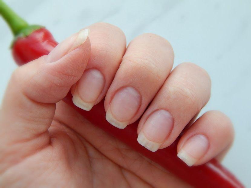 Перец для ломких ногтей.