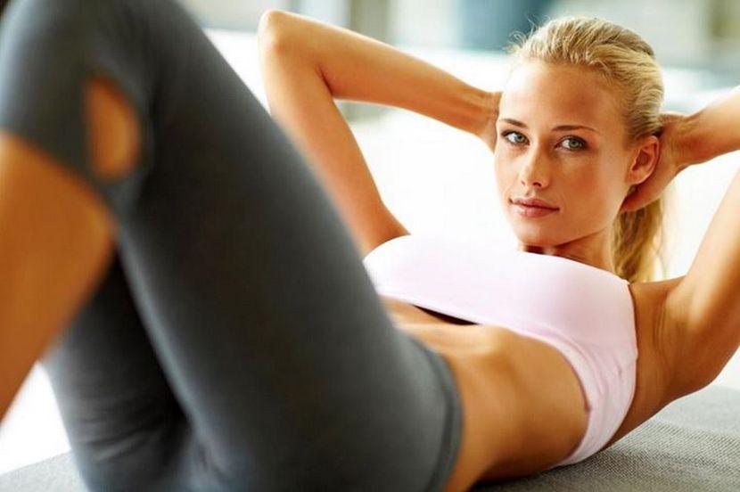 Как убрать свисающий живот с помощью упражнений