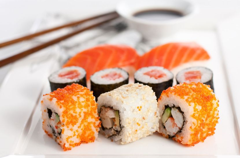 Японская кухня для диетического стола