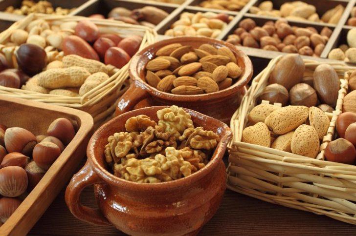 Сколько белка в орехах?