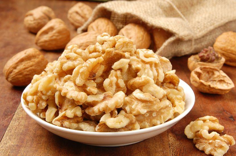 Сколько белка в грецких орехах?
