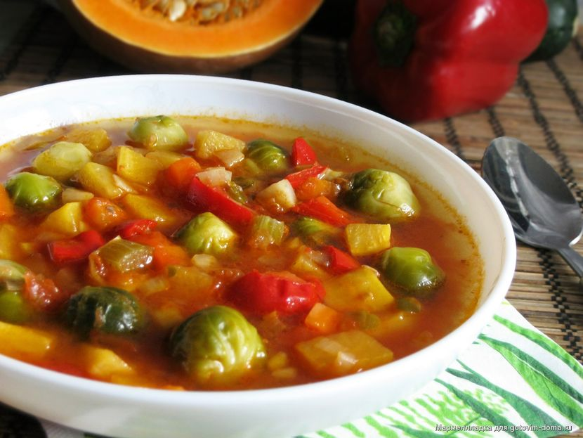 Диета на овощных супах