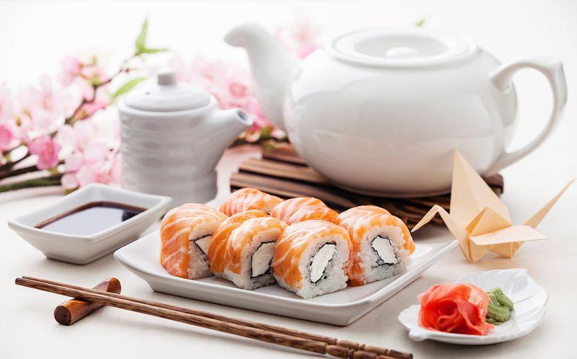 Как суши влияют на процесс избавления от жиров