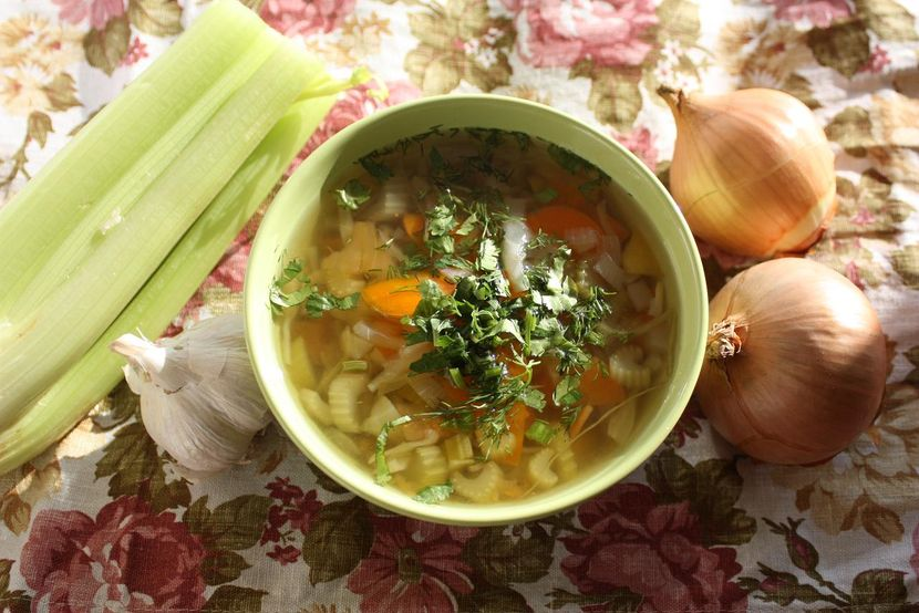 Сельдерейный суп