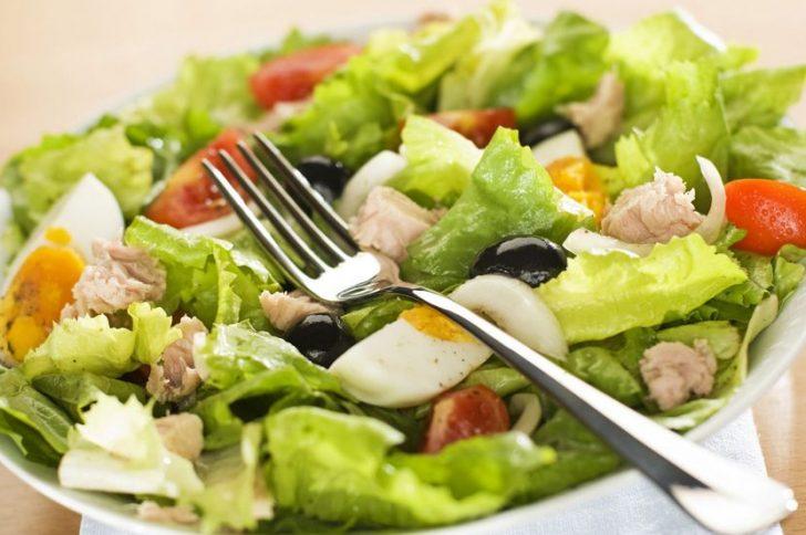 диетический салат на ужин рецепт