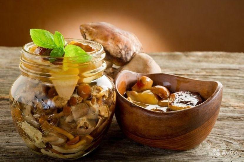 Варианты грибной диеты