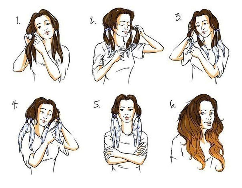 Омбре на волосы в домашних условиях