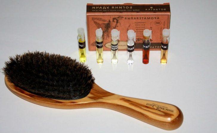 эфирные масла для волос от секущихся кончиков