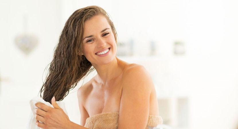 Ополаскивание волос яблочным уксусом