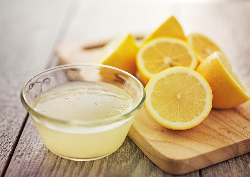 Лимон от выпадения волос