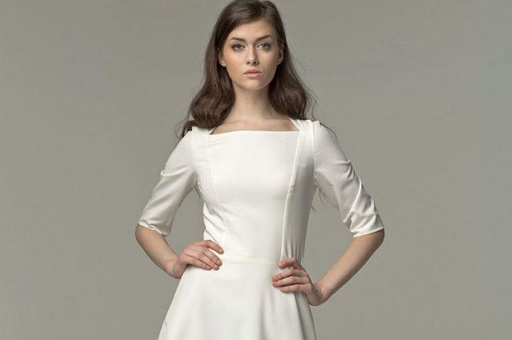 Платья цвета «экрю»: модная классика и очарование ретро