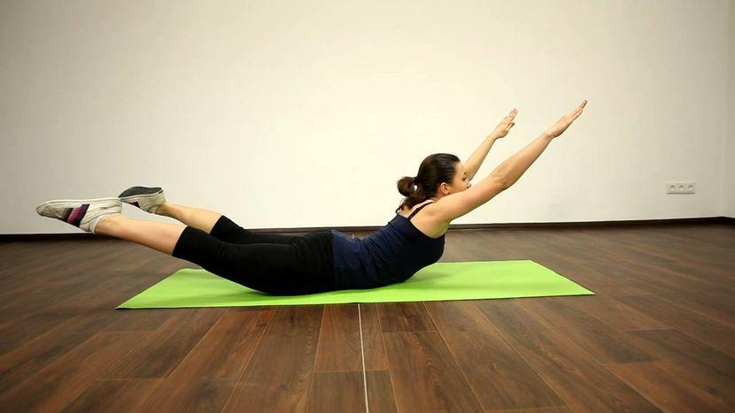 Упражнения для укрепления мышц спины при грыже