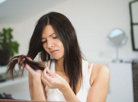 Секущиеся кончики волос — быстрое восстановление