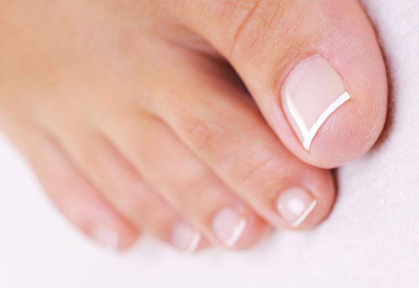 Правильный уход за ногтями на ногах