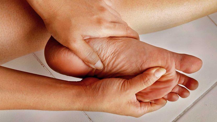 Какие структуры могут воспаляться в пальцах ног