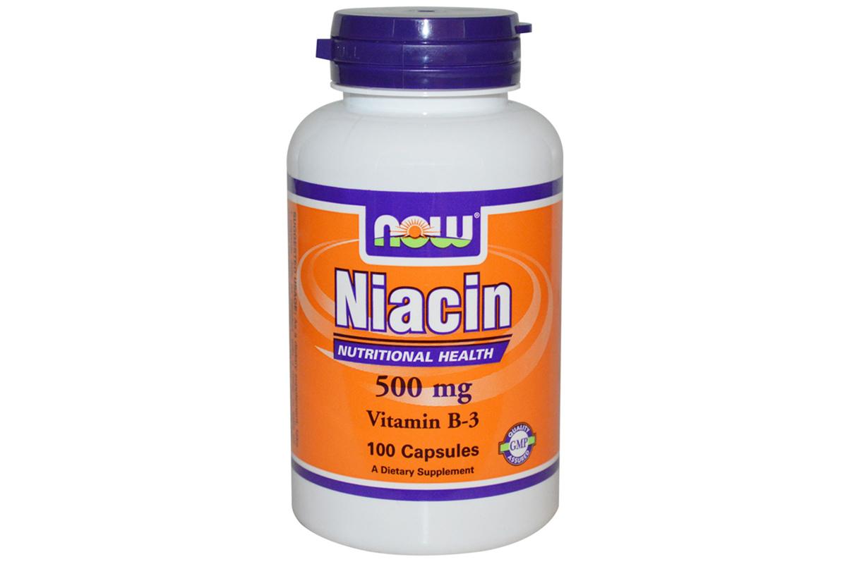 Ниацин 500 мг, в капсулах от Now Foods