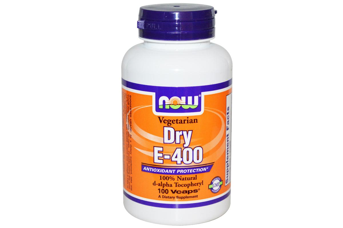 Сухой витамин E-400 в растительных капсулах