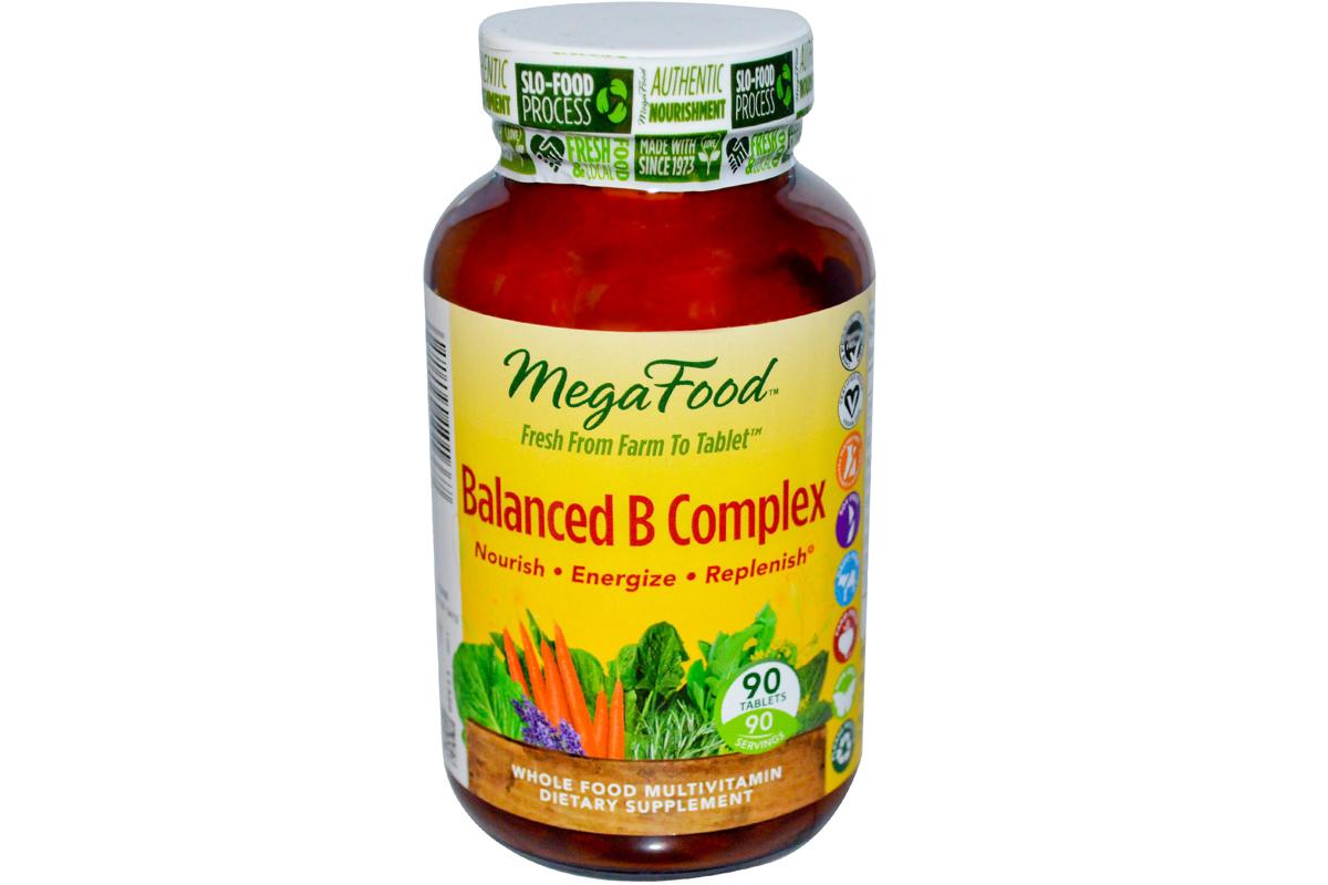 Сбалансированный комплекс витаминов группы В в таблетках от MegaFood