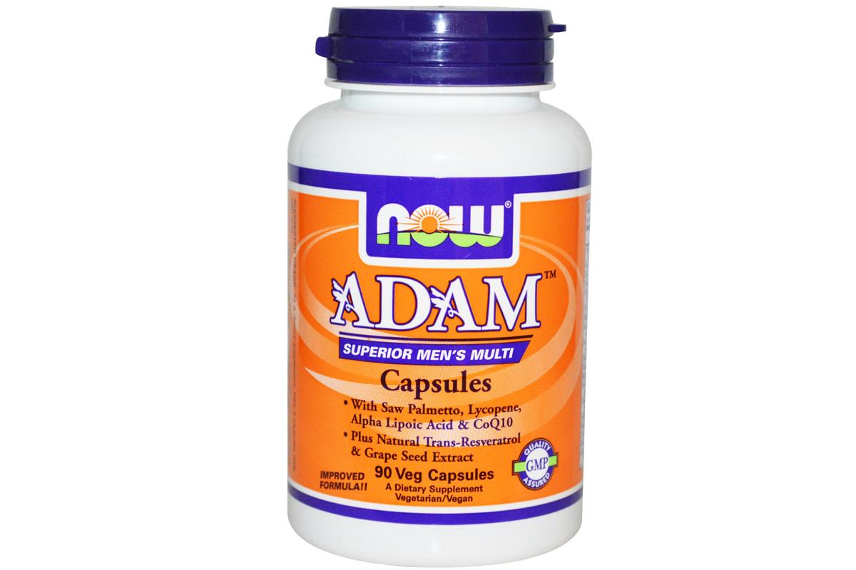 Мультивитамины для мужчин наивысшего качества в растительных капсулах от Now Foods