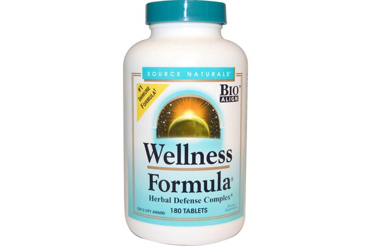 Source Naturals, Оздоровительная формула, в таблетках (180 штук)