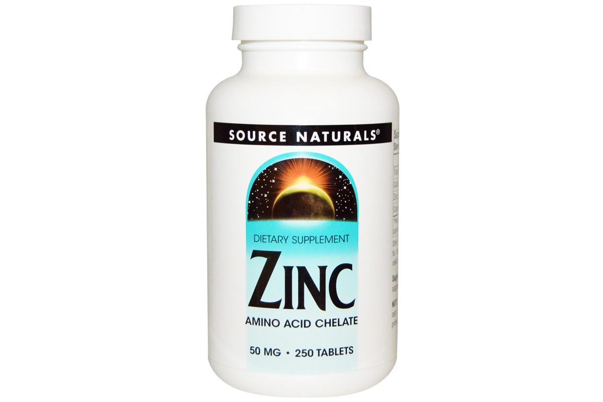 Комплекс Цинк от Source Naturals (250 штук)