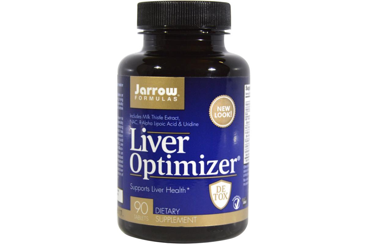 Комплекс для оптимального здоровья печени в таблетках от Jarrow Formulas (90 штук).