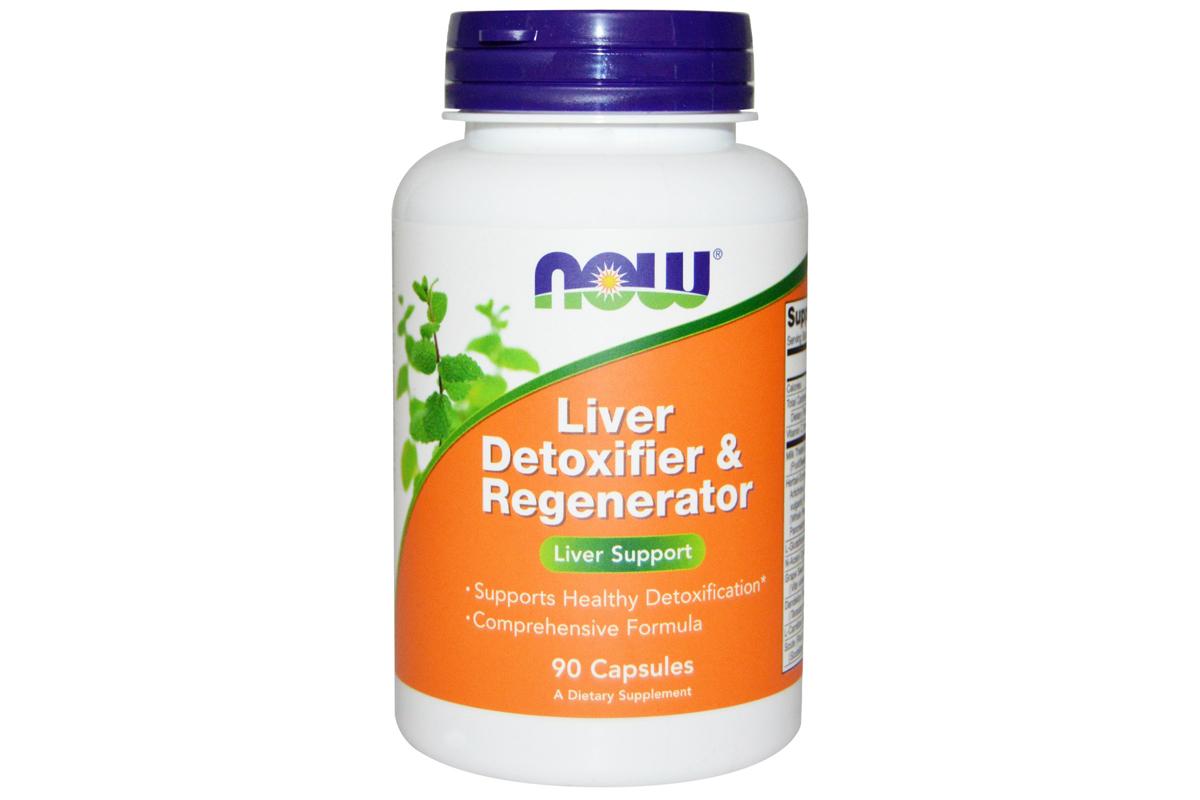 Капсулы Liver Detoxifier & Regenerator (90 штук) от Now Foods
