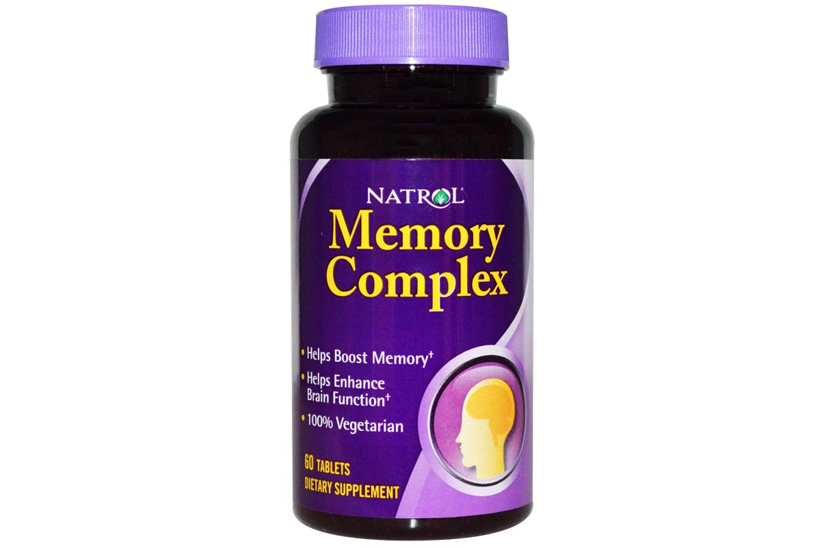 Комплекс для памяти в таблеток от Natrol (60 штук)