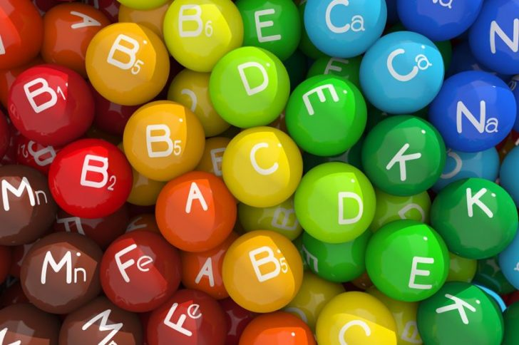 Необходимые организму витамины и минералы