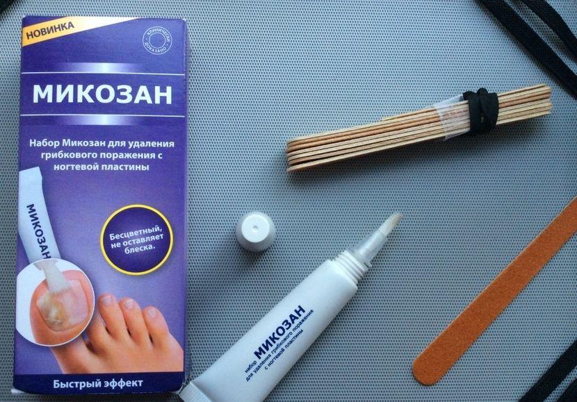 Лучшее средство от грибка ногтей на ногах обзор