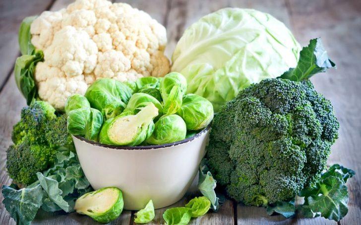 Минералы в овощах