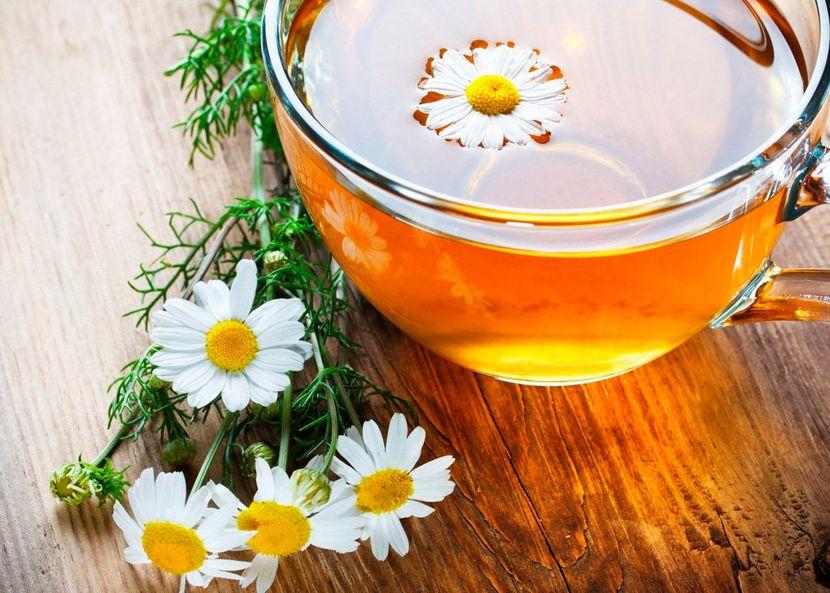 Вся польза ромашковых и имбирных чаев
