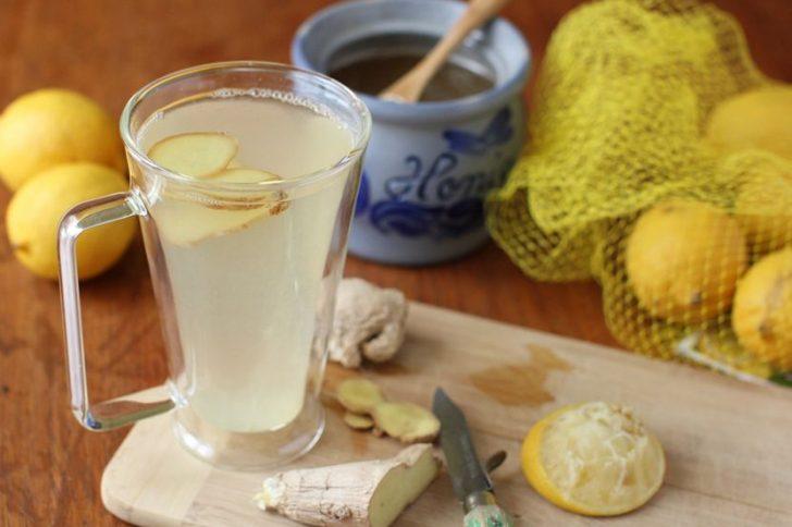 Чай с лимоном и имбирем: легкий способ снижения веса!