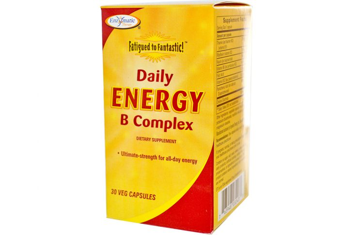 Комплекс Daily Energy B от Enzymatic Therapy, Fatigued to Fantastic