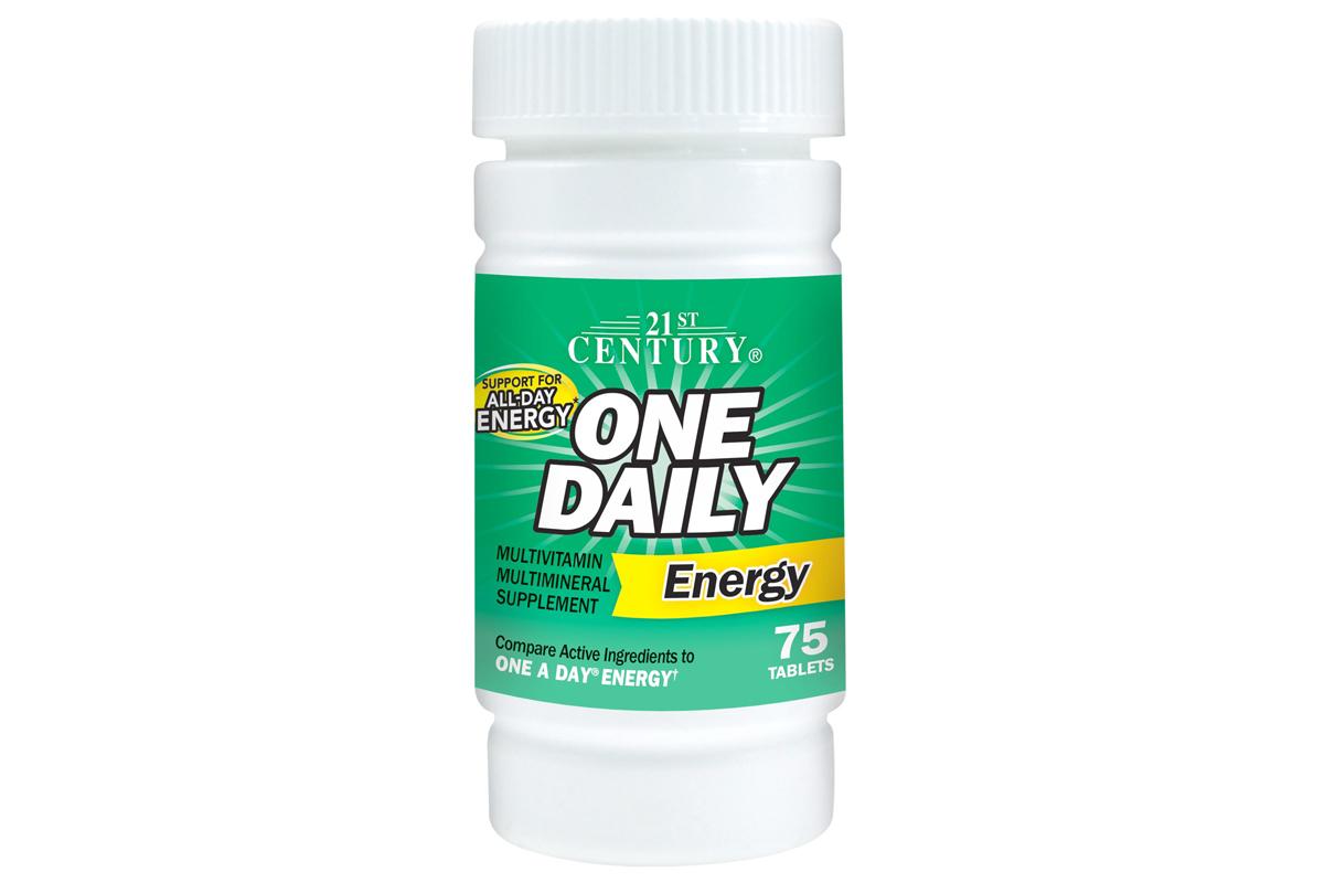 Витаминный комплекс One Daily Energy от 21st Centurу