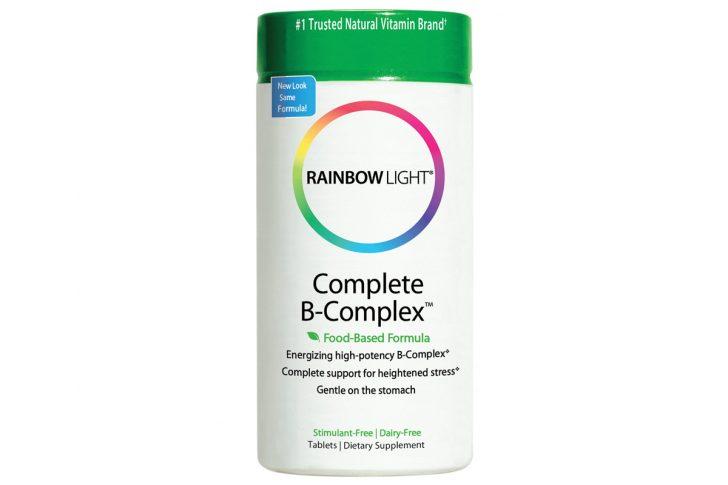 Полный комплекс витаминов B, формула на основе продуктов питания от Rainbow Light