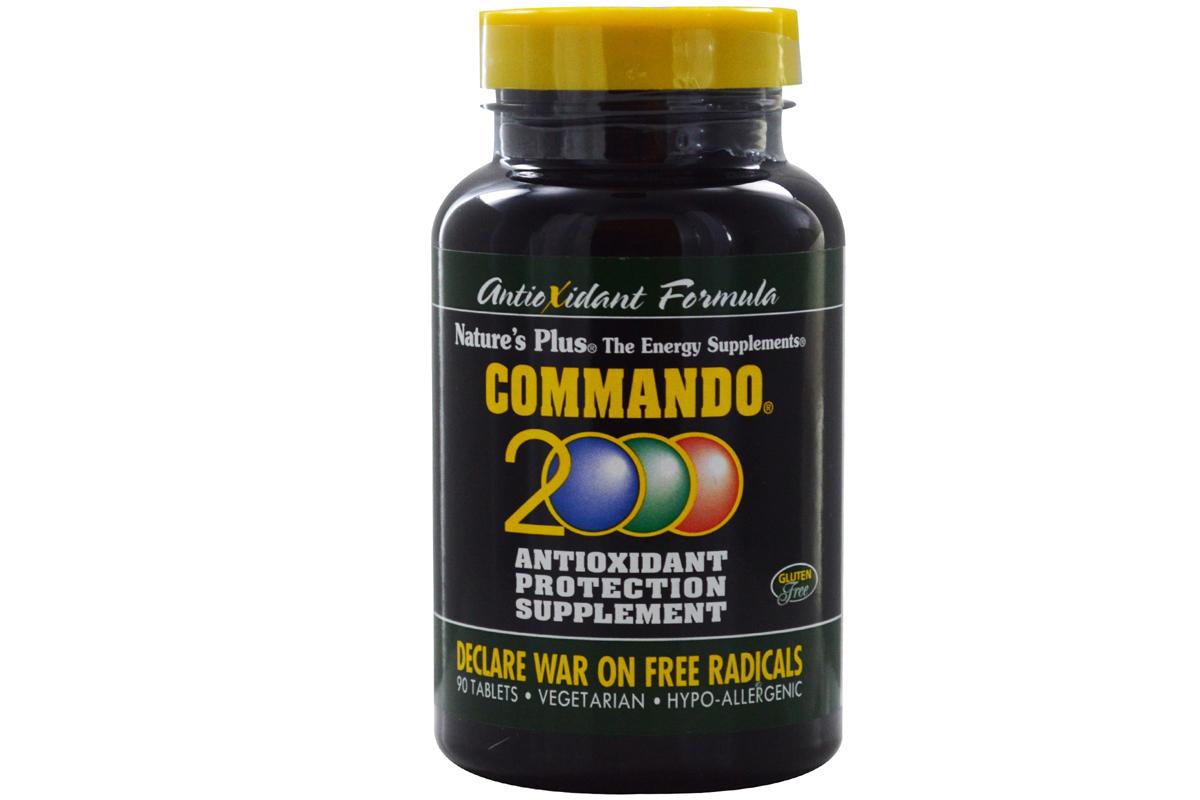 Антиоксидантная защита Commando 2000 от Nature's Plus